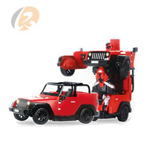 a key deformation 5CH robots storm toy rc off road cars