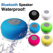 Waterproof Wireless Portable Mini Bluetooth LoudSpeaker Stereo Sound TFcard Sucker Audio Player for Use in Bathroom Living Room