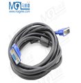1080P VGA Male to Male Cable 3+6 D-SUB Cable 15Pin 3m for Projector Monitor