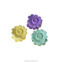 Small flower large quantity french import romantic hair claw for girl's hair