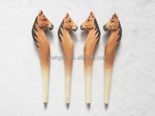 2014 new fashion wooden animal horse carven pen