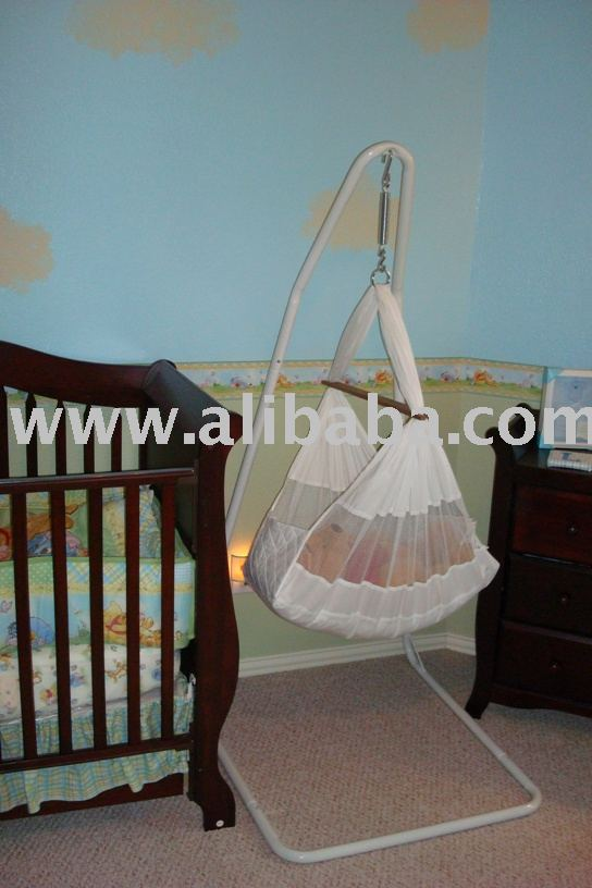 b b hamac berceau berceau bassinet mouvement lit. Black Bedroom Furniture Sets. Home Design Ideas