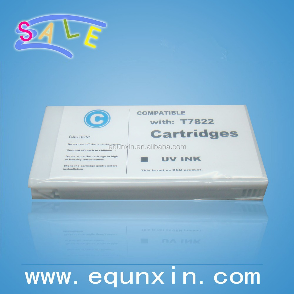 New 2016 T7821 - T7826 Refilling Ink Cartridge for epson SureLab D700 Inkjet Cartridges with Chip with one time dye ink