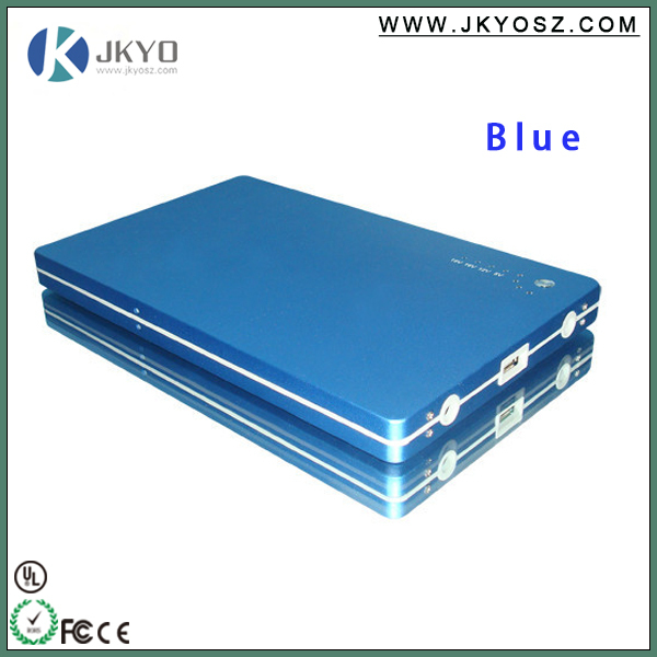 2015 Top quality Li-polymer battery 20000mAh portable power bank ,slim power bank
