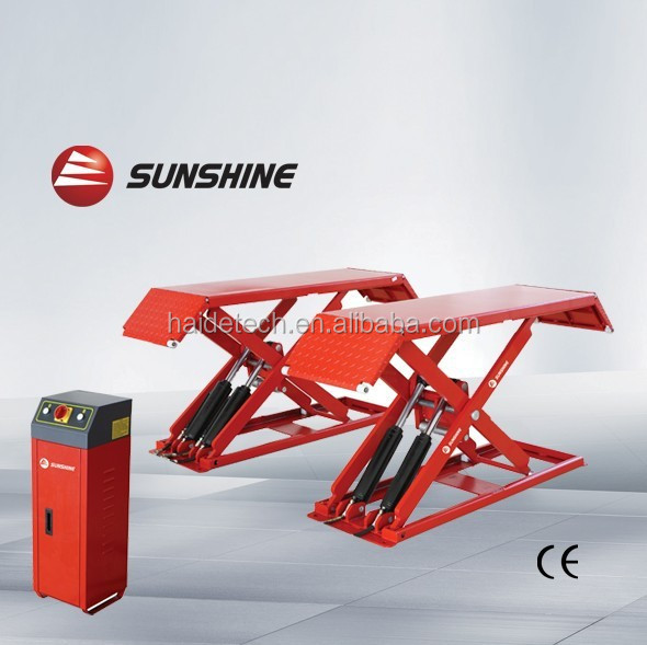 mini scissor lift SXJS3018 hydraulic scissor car lift with CE