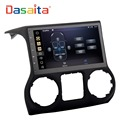 "DASAITA Android 8.0 10.2"" Car Radio DVD player with GPS navigation multimedia system for jeep wrangler"