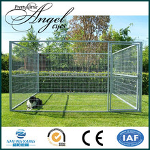 Customize kinds of dog cage metal panel pet outdoor kennel for sale