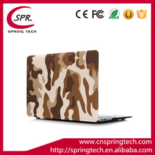 high quality 11.6''' inch water paste injection soft hard PC shell cover case for MacBook Air brown color OEM