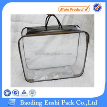 high quality hdpe color cheap small clear transparent plastic bag for quilt