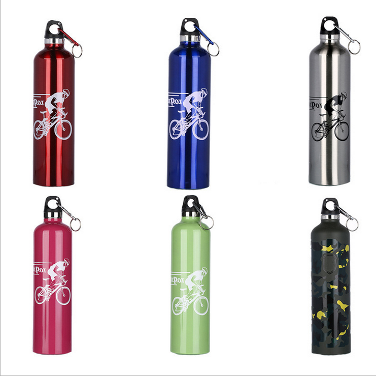 Wholesale Customized 500ml Tea Pot Vacuum Flask Stainless Steel Outdoor Sports Water Bottle with Climbing Bu