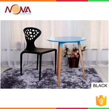 Popular design Wholesale Outdoor Plastic stacking chair furniture dining room