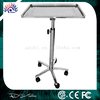MAYO Instrument Stand Tattoo Body Piercing Surgical Tray Stainless Steel Rolling