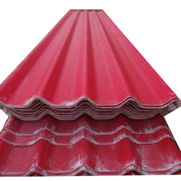 100% Non-asbests fireproof heat resistant MGO flexible roofing material