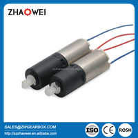 3V 6mm low speed micro geared coreless motor