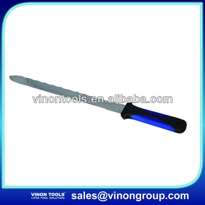 Insulation knife W/soft grip handle, Knife tools 280mm