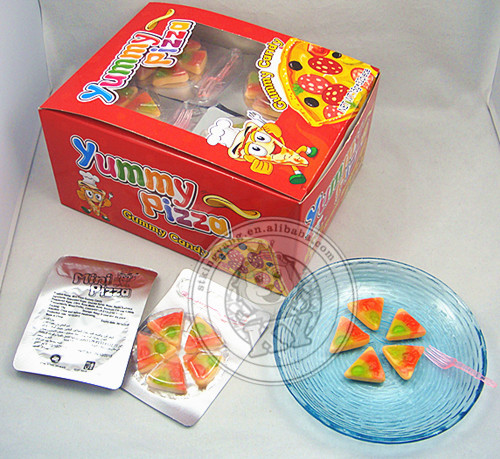 Yummy Sweet Halal Pizza Gummy Candy