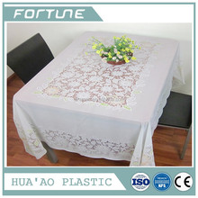 HIGH QUALITY PVC PLASTIC TABLE CLOTH CUP COVER PRINT FILM FOR DECORATION