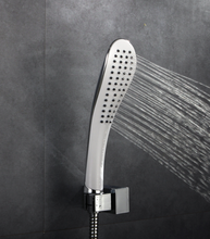 High quality white ABS plactic hand shower head single function message spa shower