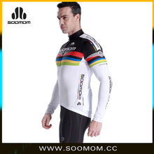 China cycling wear apparel youth man long sleeve cycling jersey