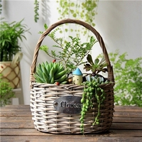 Home And Garden Plastic Liner Wicker