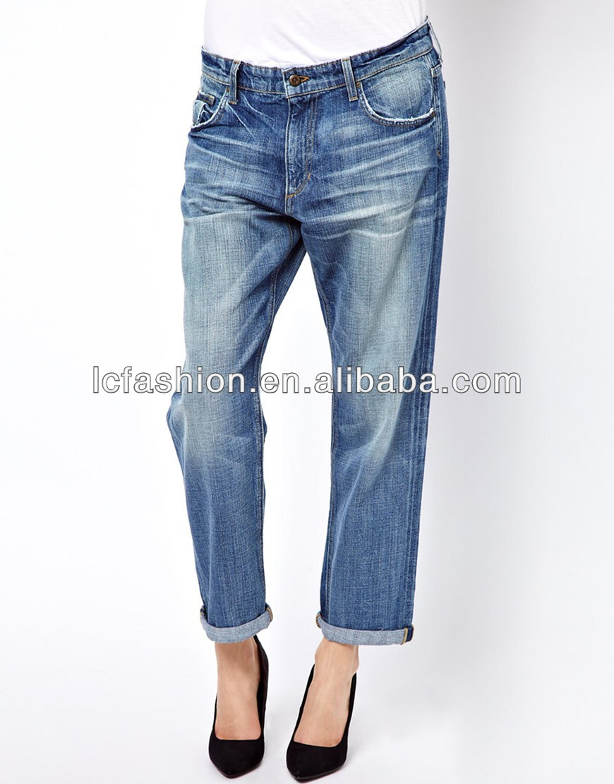 Foreign Trade Export Loose Pants Baggy Boyfriend Jeans