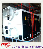 packaged 0.7mw to 4.2mw assembled hot water boiler