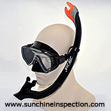 Diving glasses quanlity control/Third part inspection agent in China