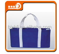 custom gift woodland non woven die cut bag