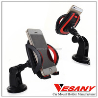 Vesany Best Selling Silicone Suction Cup Universal One Touch Car Mount Cell Phone
