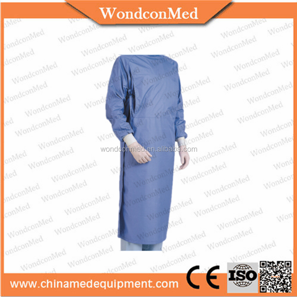 Reusable waterproof medical doctor gowns for dental clinc