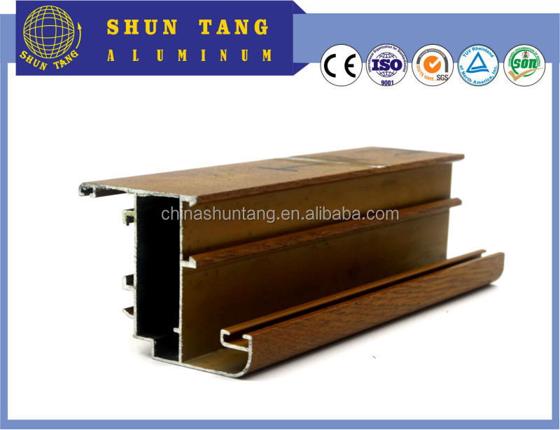 Chinese manufacturer extruded aluminium window frame,aluminum material