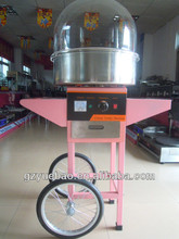 cart/ trolley cotton candy floss machine for sale