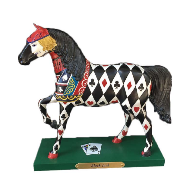 customize metal trophy award with horse for souvenir fashion
