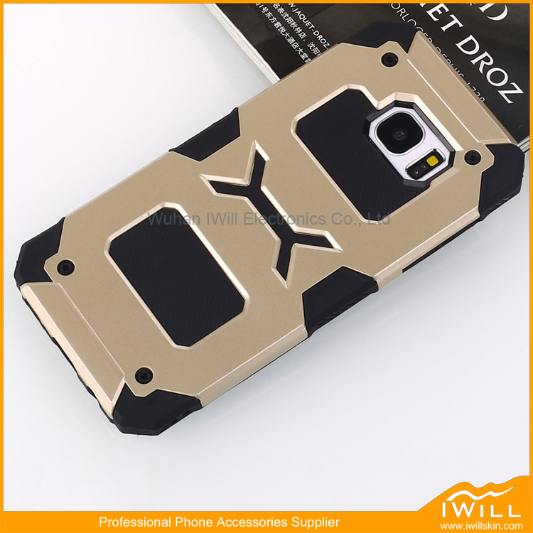 New Arrival Heavy Duty Robot Armor Combo Cell Phone Case for Samsung S7 Edge