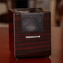 New Designed China Small Automatic Rotating Wooden Watch Winder Box
