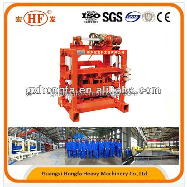 Small investment brick laying machine maker QT4-40 cheap price