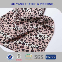 Leopard printing wholesale lycra spandex fabric for swimsuit/bikini/swimwear