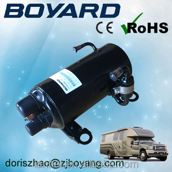 CE ROHS R407C rv recreation vehicle air conditioner compressor for motorhome caravan