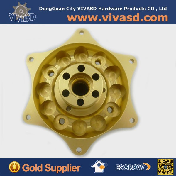 Drawing quote customized CNC turning brass parts service