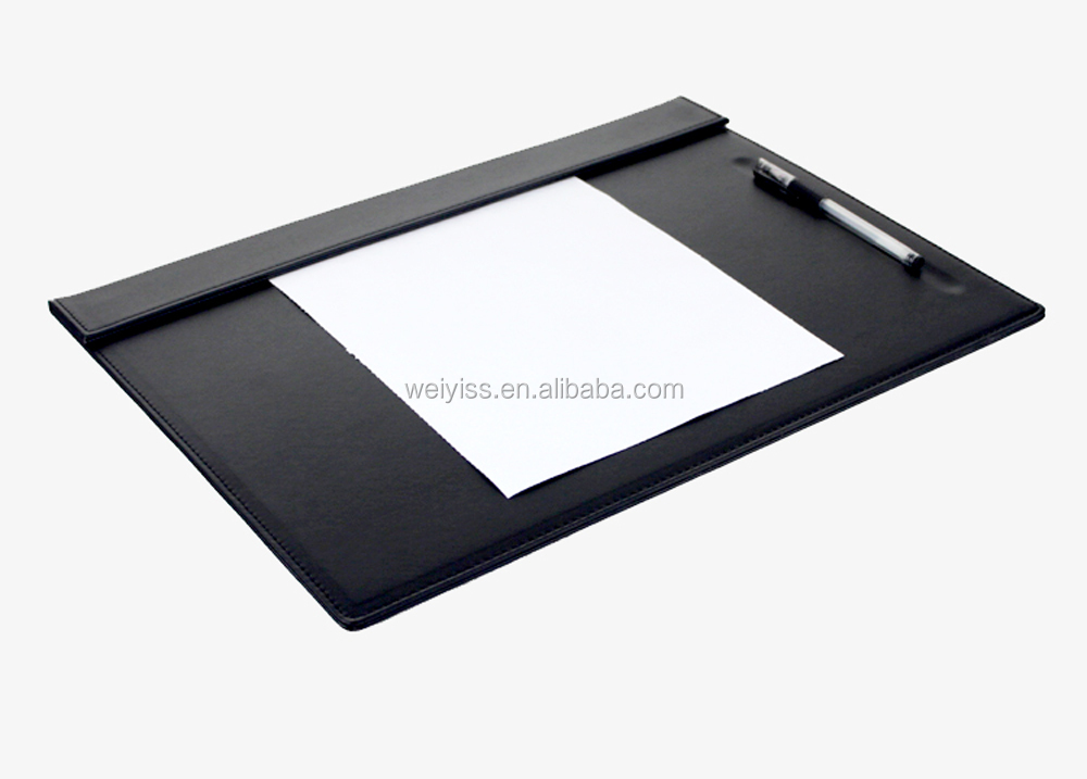 Wholesale Executive PU Leather Office Durable Big Size Desk Pads with Custom Logo Embossed