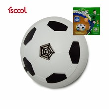 Light-up Air Power Disk Football Design Toy Soccer Hover Ball