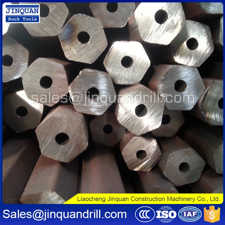 Professional supplier of rock drill rod for ore mining, tunnelling, railways, highways