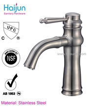Hot Sale bathroom chrome plated long neck faucet