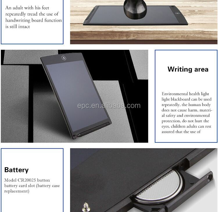 LCD Writing Tablet Digital Drawing Tablet Handwriting Pads