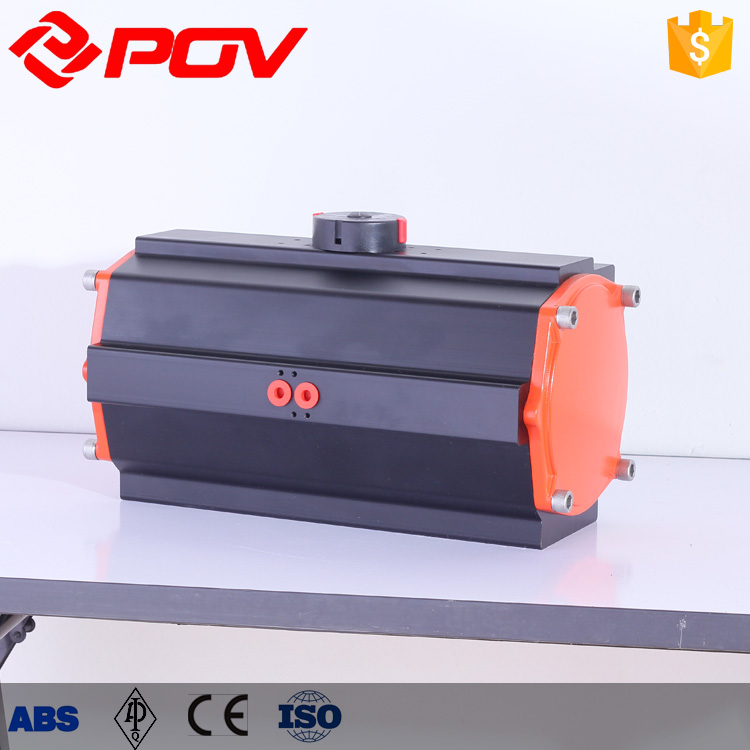 hot sale actuator air cylinder for ball valve butterfly