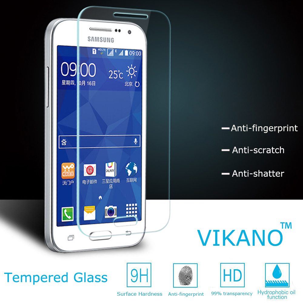 Vikano100% nuglas glass Use for galaxy core prime touch screen glass protector film/Mobile Phone for samsung tempered glass