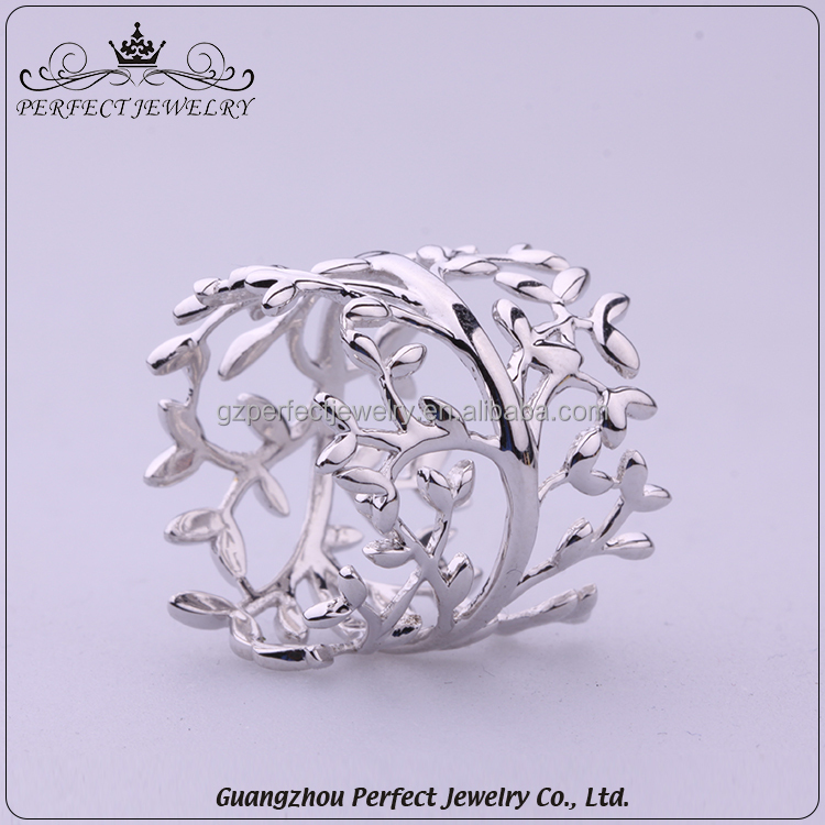 Factory Manufacturer Wholesale High End Women Popular New Design Ring Sterling Silver Jewelry