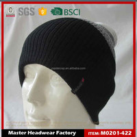 winter knitted black ski mask hat knitting pattern beanie hat