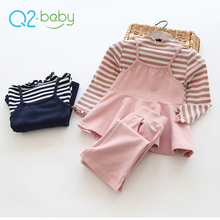 Q2-baby New Style Whole Sale Boutique Baby Wear Clothing Set Clothes For Kids Girls