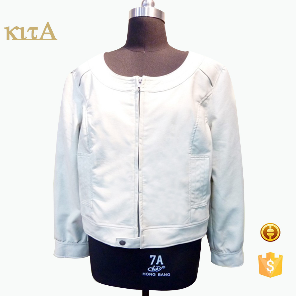 hot sale women cheap fahsion motorcycle leather jacket